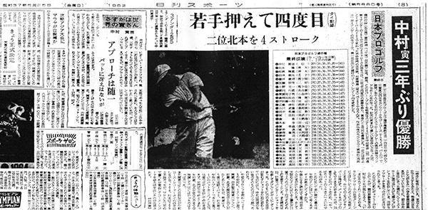 1962年5月25日付日刊スポーツ