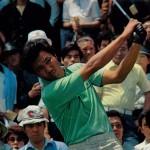 連覇を果たした青木のショット(週刊アサヒゴルフ1979年6月13日号より)