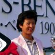 大会初優勝を飾った具玉姫(写真提供:日本女子プロゴルフ協会)