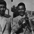 大会3勝目を飾った林由郎。左は所属先である我孫子GCの先輩・山本増二郎プロ(写真提供:日本プロゴルフ協会)